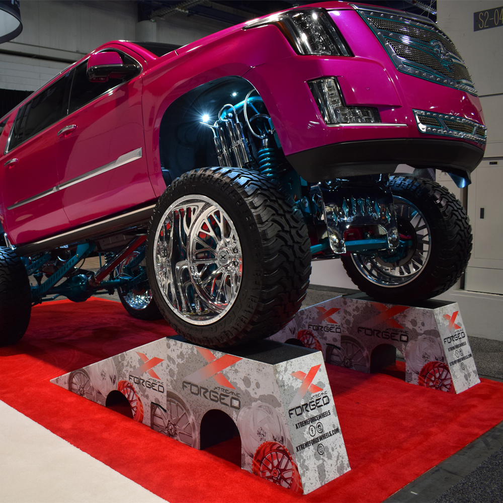 Custom Articulation at Xtreme Force Wheels Ramps--RR-ARC-16