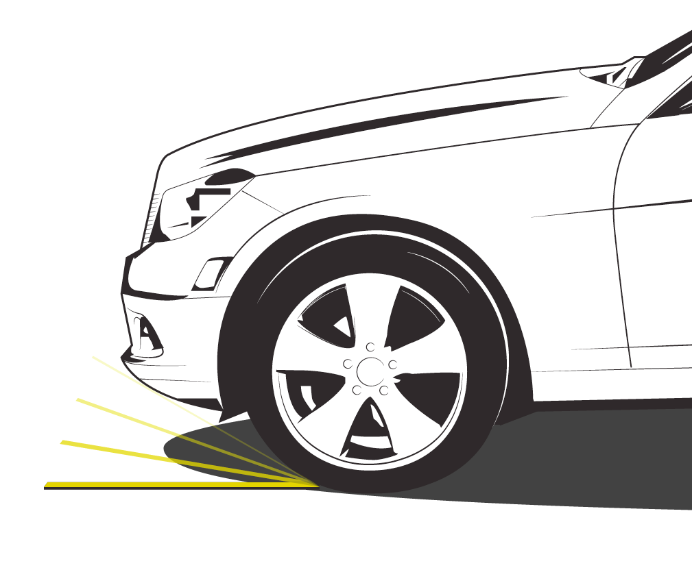 Find your vehicle's maximum approach angle