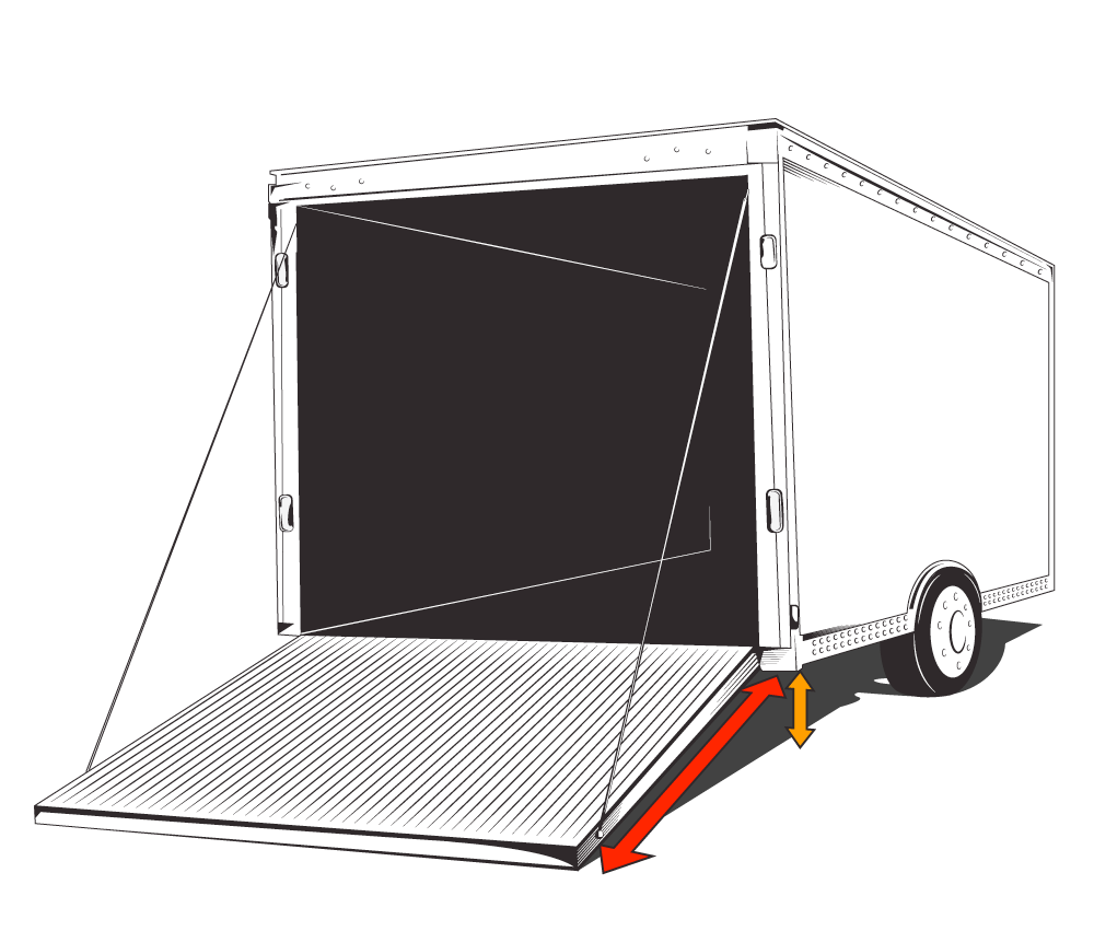 Step 2 Measure Your Trailer Door Length