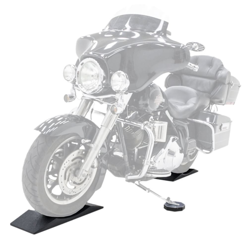 RR-FS-MC Black Widow FlatStoppers Motorcycle Storage Ramps
