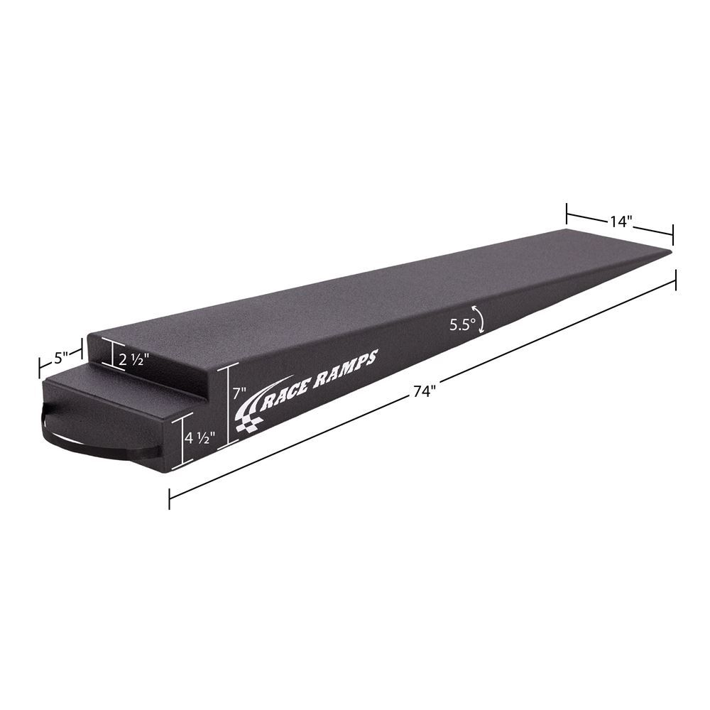 RR-TR-7 7 H Solid Trailer Ramp - 55 Degree Approach Angle