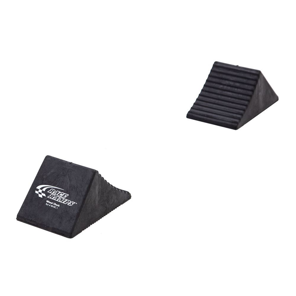 RR-WC-2 Rubber Wheel Chocks with Extra Grip - Set of Two